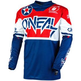 O'Neal Element Jersey Heren, blauw/rood